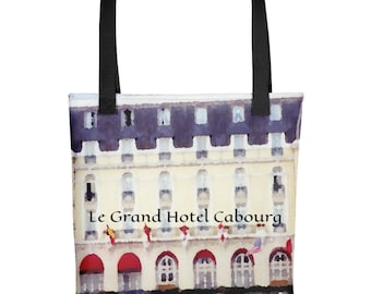 Le Grand Hotel Cabourg French Tote Bag