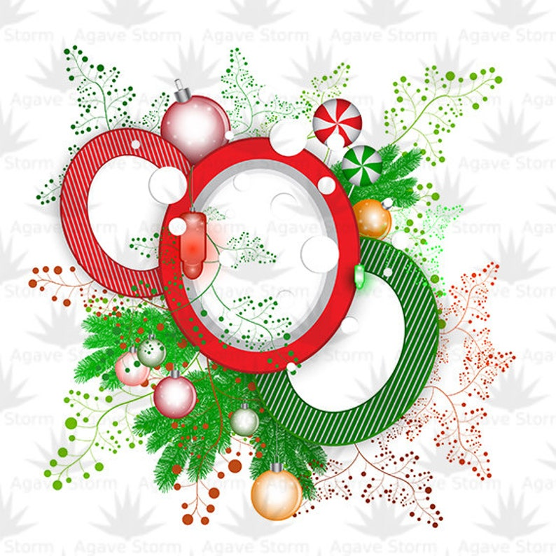 files. Set  of  7 Christmas Vector Backgrounds with Christmas Decorations EPS10 and JPG 4000px X 4000px