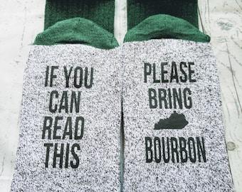 gifts for men, Bourbon lover gift, gift for dad, birthday gift, gift for him, men's clothing, christmas mens, stocking,    KY B