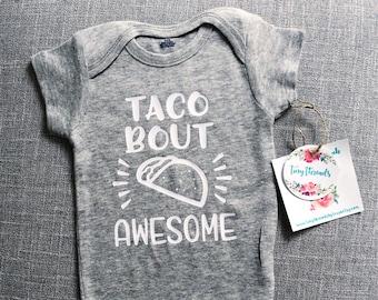 21f508047 Baby taco onesie