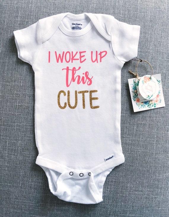 Baby Onesie\u00ae Baby Boy Onesie\u00ae Baby Gift Baby Shower Gift 117 You Wake Me Onesie\u00ae Baby Clothes Baby Girl Onesie\u00ae Toddler Tshirt
