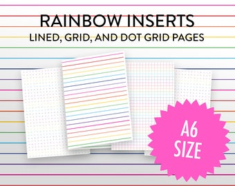 graph paper journal etsy