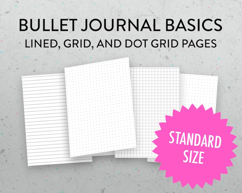 image about Midori Insert Printable titled Midori Incorporate Printable Grid, Dot Grid, Protected Include, Bullet Magazine Incorporate, Printable Graph Paper, PDFs, Monthly Common Dimensions
