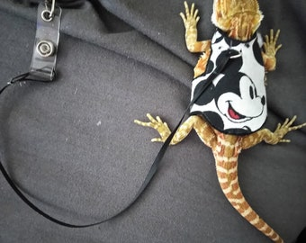Bearded Dragon Baby Trainner Harness ( Assorted Colors)