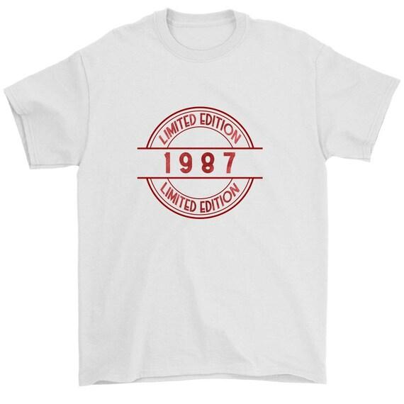 1987 Birthday Shirt 30 Limited Edition 30th