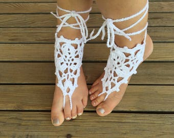 Foot jewelry - barefoot, one size