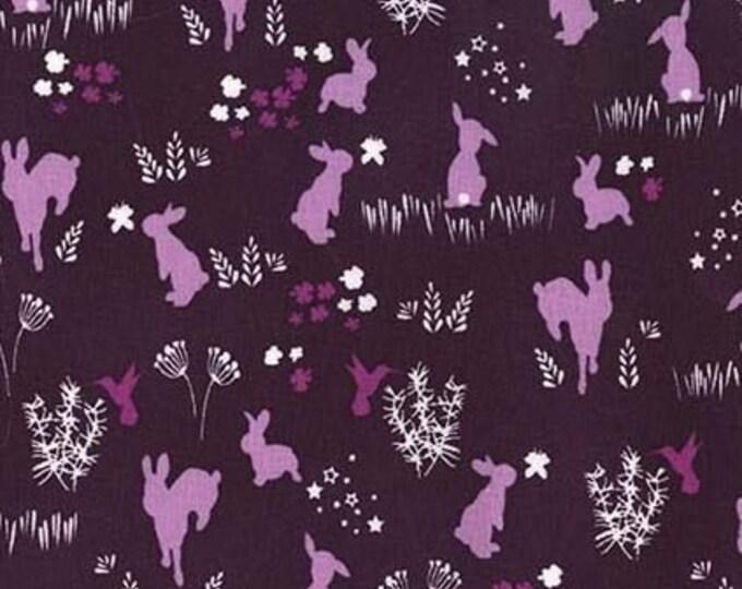 Plum Bunny Hop - Metal Buckle Dog Collar or House/Tag Collar - Easter Dog Collar - Spring Dog Collar - Fashion Dog Collar - Dog Gift