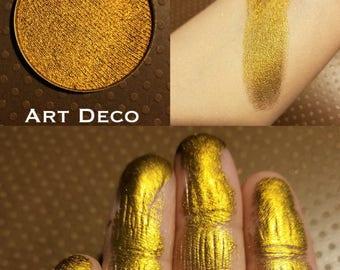 ART DECO gold shimmer vegan eyeshadow