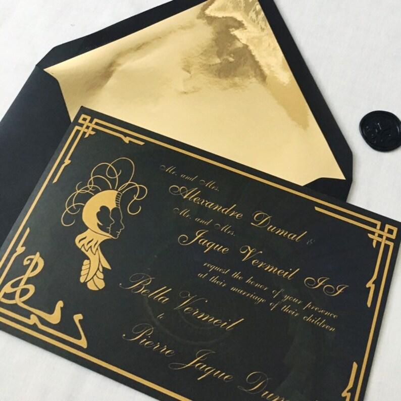 Count Of Monte Cristo Invitation Card Onvacationswall Com