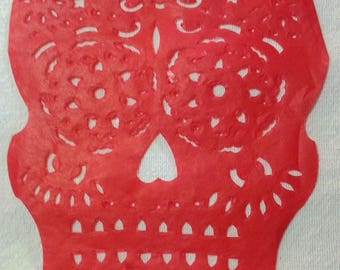 Skull Papel Picado