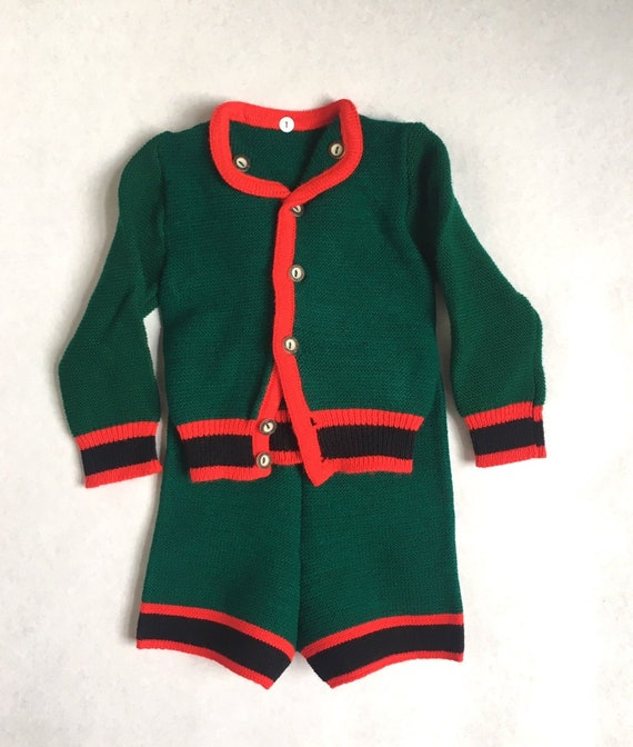 Vintage Bavarian Baby two piece with Cardigan and