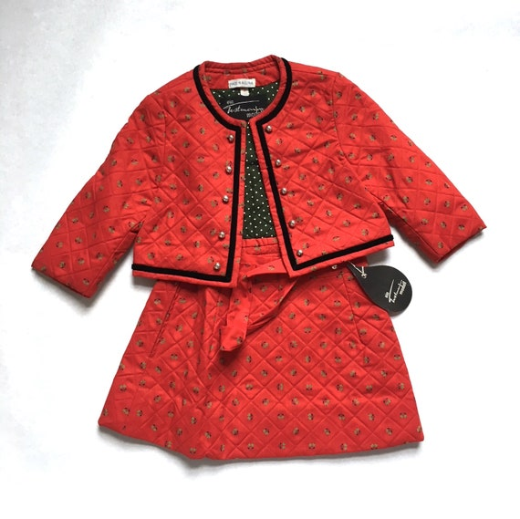 Vintage Quilted two-piece Traditional Austrian Sus