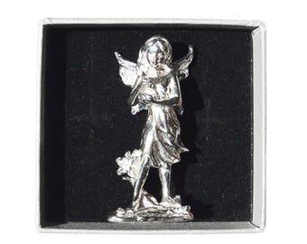 """Lovely fairy """"Iria"""" handmade in fine pewter"""