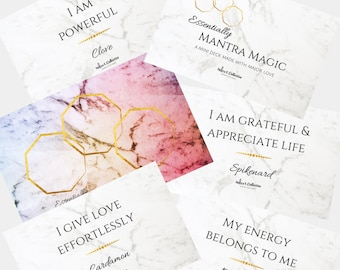 Mantra Magic Deck | Inspirational cards | Oracle Cards | Divination Tools | Mantra