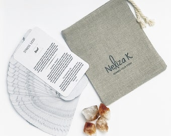 Journaling with Essential Oils | Journaling Cards | Oracle Cards | Divination Tools | Card Deck | Essential Oils
