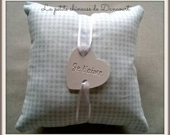 Blue with plaster perfume scent cushion
