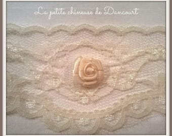 Bag of 10 small ivory roses