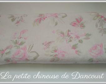 English garden fabrics linen pale pink