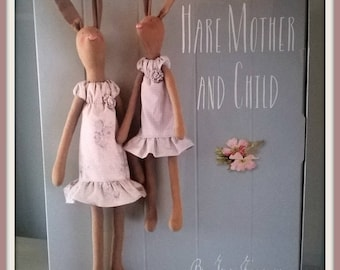 Tilda mother and daughter lapinettes Kit