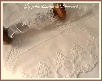 Lace off white Hariette
