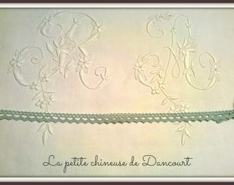 Mademoiselle water green lace