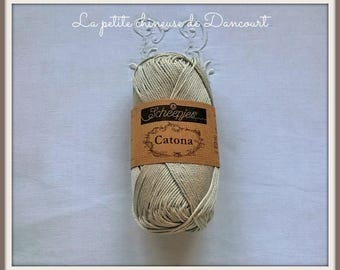 Linen Catona Mercerized cotton