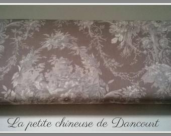 Fabrics of Mas D'ousvan Melanie beige taupe
