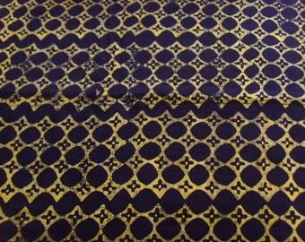 Batik by the yard black - bkvl17