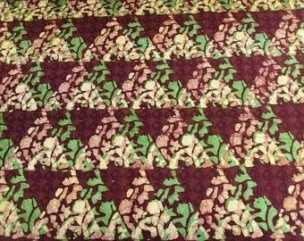 Batik by the yard - Brown - bkbz82