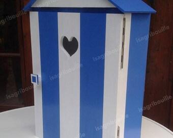 Beach theme Starfish-paper storage cabinet toilet