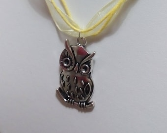 OWL ornament / colorful owl: ideal for a fan of OWL necklace and earrings