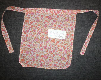 flower girl apron pattern 2/5 years