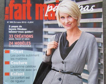 """Handmade"" magazine - issue 369 - October 2012 - knitting, sewing, children"