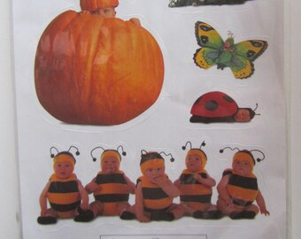 Board of Nice stickers stickers Anne Geddes - autumn