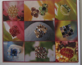 Glass beads ' rings' book - to introduce you to create rings of glass beads