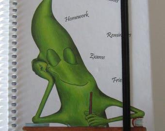 School notebook, school - School spiral notebook - bean