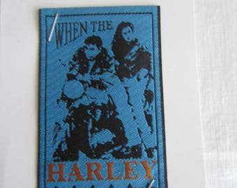 Pattern used to sew - When the Harley