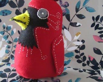 Bird - extra large red cardinal - for collector