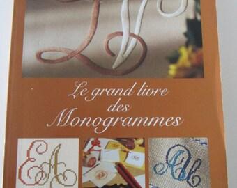 "Book ""the big book monograms"" - DMC"