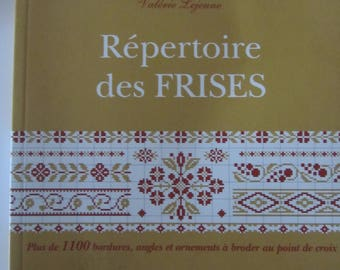"""""""Directory of Fritz"""" book - 1100 borders, corners and ornaments embroidery"""