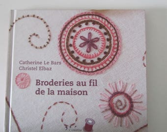 "Book ""embroidery over the House"" - 21 designs"