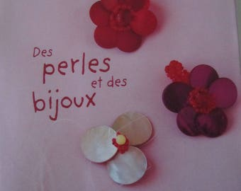"Book ""beads and jewelry"" - 58 originals - homemade jewelry"