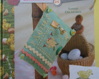 """Wait until Easter embroidering, sewing, sticky's book """"Easter Sunday""""-"""