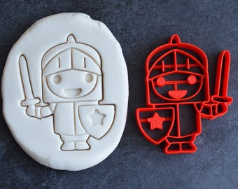 Brave little Knight cookie cutter