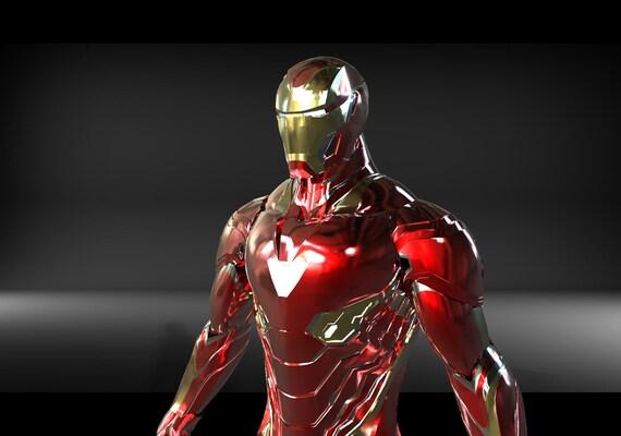 Iron Man Infinity War Mark 50 Unfolded for FOAM