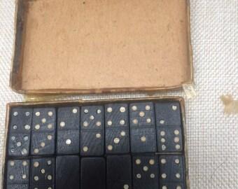 Miniature Dominoes set