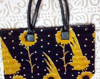 Kantha handmade ladies handbags vintage look