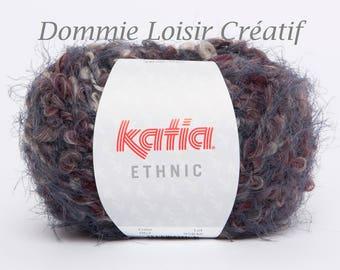 Wool Katia ETHNIC 62 Garnet color