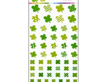 Stickers stickers scrapbooking cardmaking 4 leaf clover *.