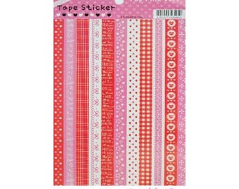 Tapes decorative stickers stickers scrapbooking cardmaking model 2 (ref.410) *.